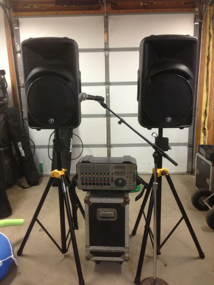 2speaker Pa System Gear To Go Rentals Llc