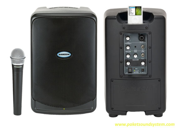 samson xp40iw battery powered speaker gear to go rentals llc. Black Bedroom Furniture Sets. Home Design Ideas